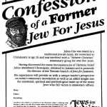 Confessions Of A Former Jew For Jesus