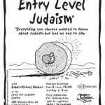 Entry Level Judaism 2003