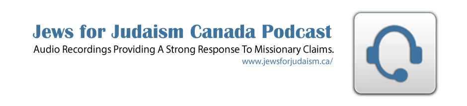 Audio MP3 - Jews for Judaism