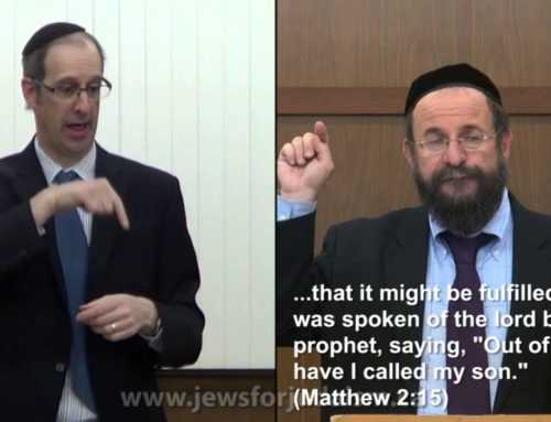4 Deaf Jews 4of 6 – How Missionaries Misread The Bible