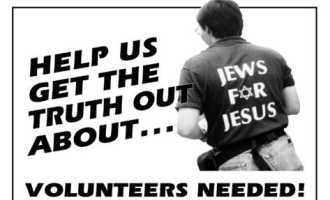 Help Jews For Judaism To Counter Missionaries On The Street