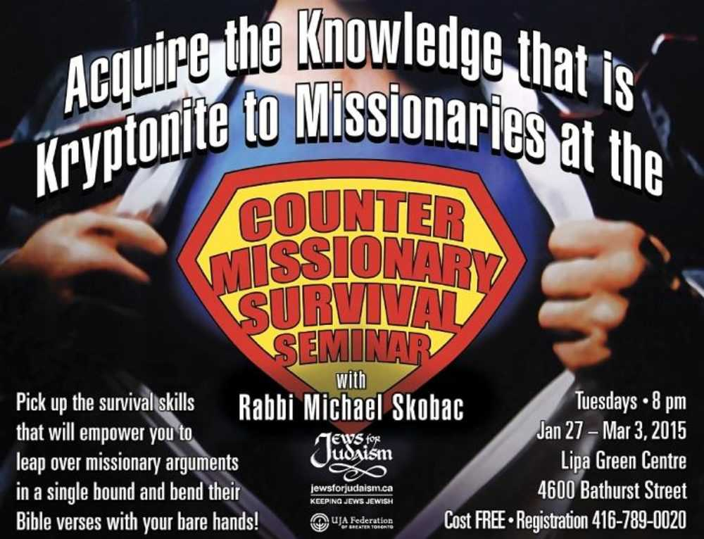 12-part Counter-missionary Survival Seminar