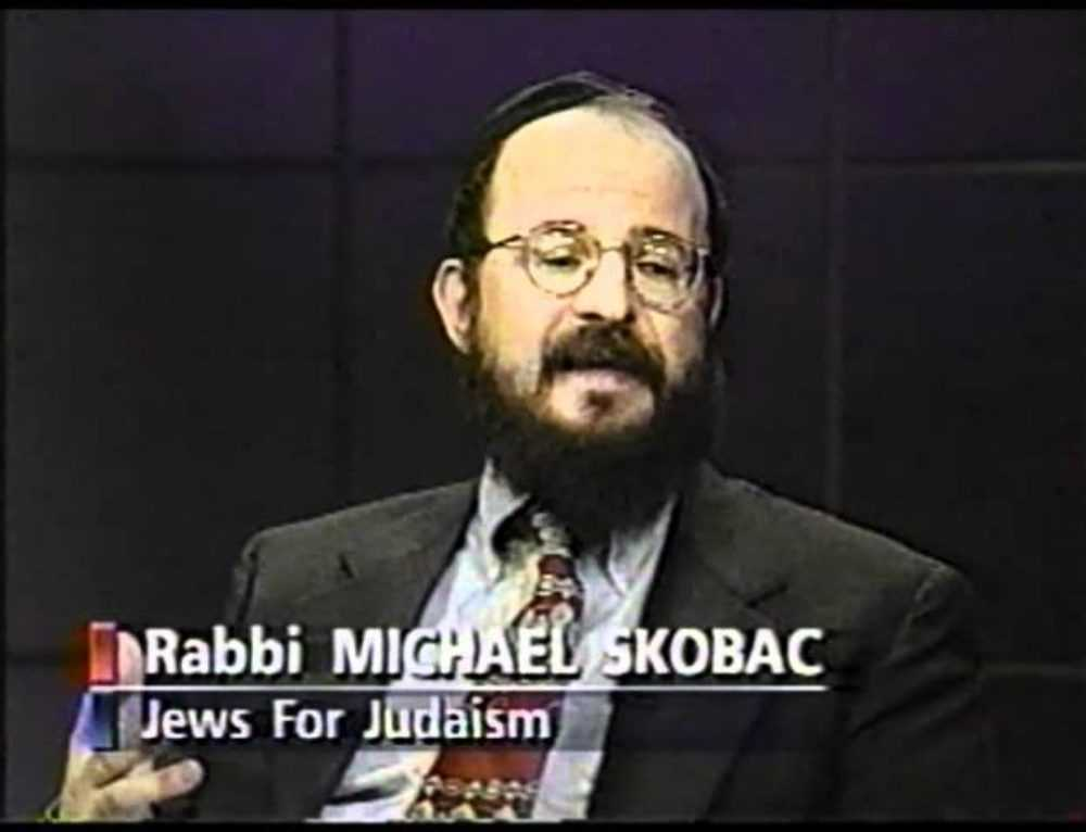 No To Jews For Jesus With Rabbi Skobac On Cbc Tv 1997
