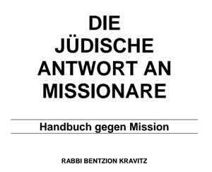 Die jüdische Antwort auf Missionare – In Deutsch