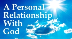 Personal Relationship With God (one For Israel Maoz Messianic Jews For Jesus Jewish Voice Askdrbrown