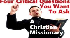 4 Questions 2 Ask A Christian Missionary (reply2 One For Israel Messianic Jews For Jesus Askdrbrown)
