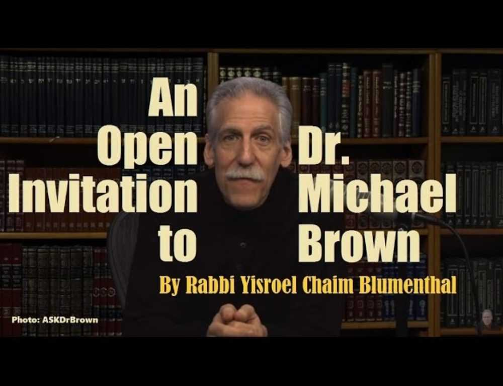 An Open Invitation To Dr Michael Brown Video