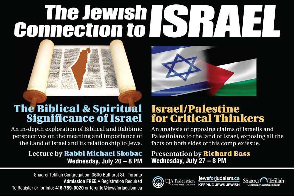 The Jewish Connection To Israel