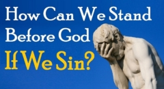 Sinners Facing God (reply 2 Askdrbrown I Found Shalom One For Israel Maoz Jews For Jesus Ahavat Ammi