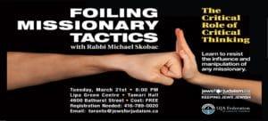 Foiling Missionary Tactics