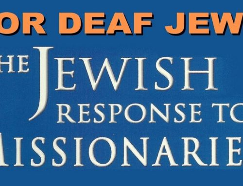 For Deaf Jews: Jewish Response To Missionaries, Rabbi Benzion Kravitz