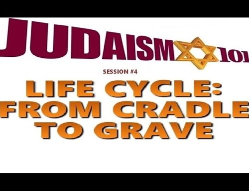 The Life Cycle Of Judaism: From Cradle To Grave – Rabbi Michael Skobac – Jews For Judaism