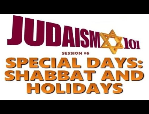 Special Days: Shabbat (sabbath) And Holidays – Rabbi Skobac