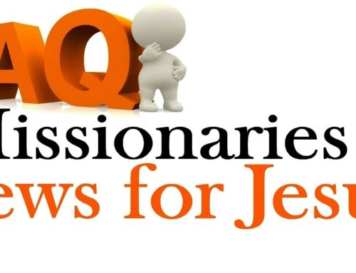 Frequently Asked Questions About Missionaries & Jews For Jesus