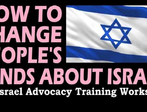 How To Changes People's Minds About Israel Israel Advocacy Workshop, Rob Walker, Hasbara Fellowships