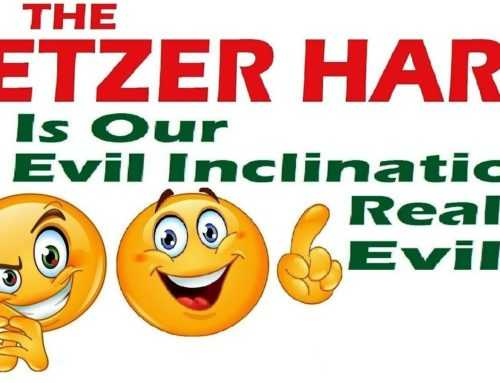 The Yetzer Hara: Is Our Evil Inclination Really Evil? – Rabbi Michael Skobac – Jews For Judaism