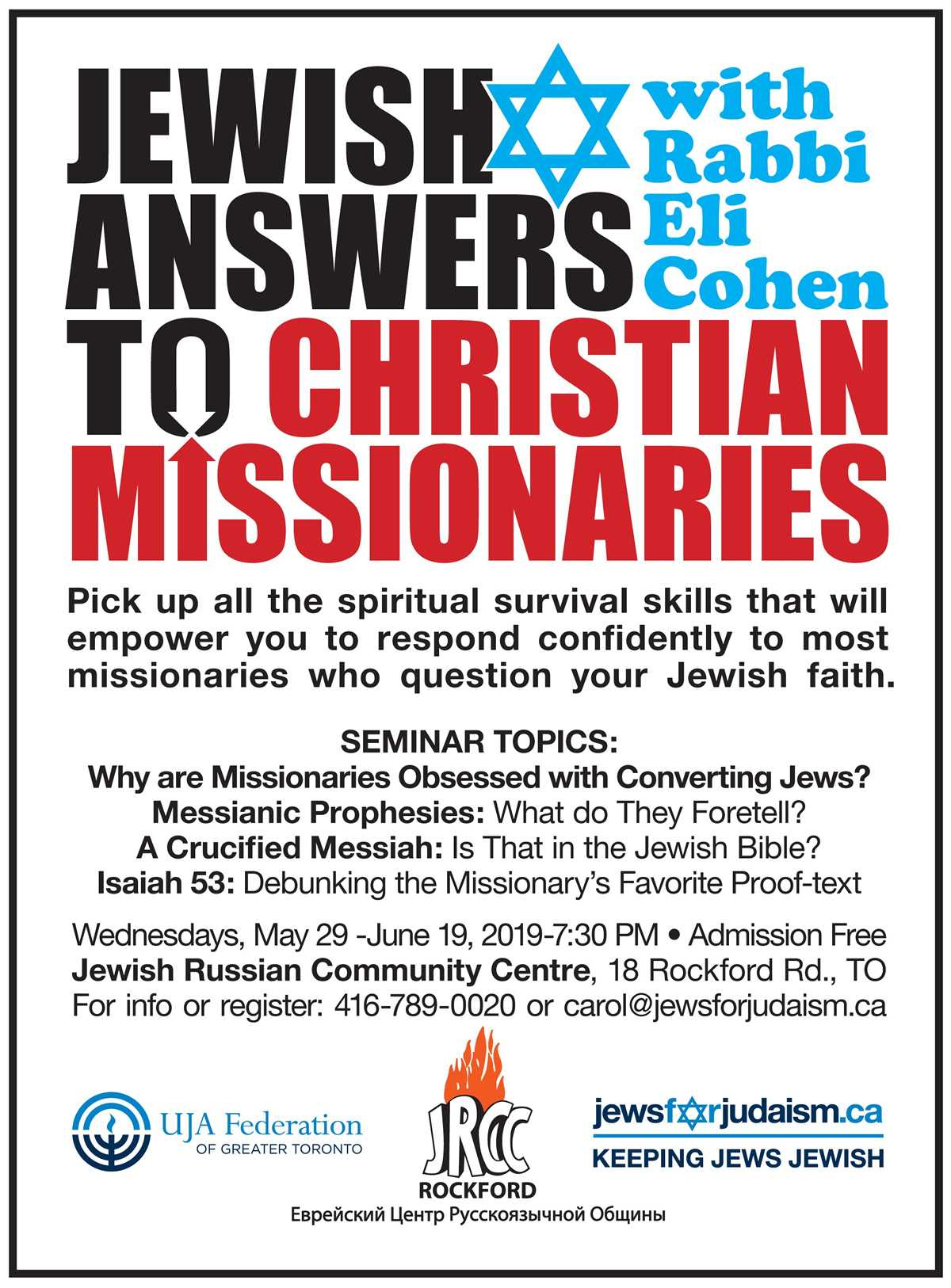 The Jew and the Christian Missionary: A Jewish Response to Missionary Christianity